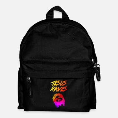 Rave Jesus Raves EDM Quote - Sac à dos Enfant