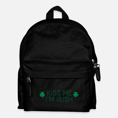 Shamrock kiss me i'm irish dotted / shamrock / st paddy's - Sac à dos Enfant