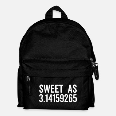 Pi Sweet As Pi Funny Quote - Mochila infantil