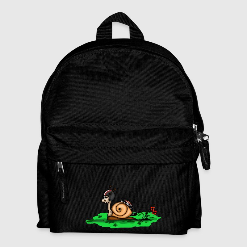racing snail - Kids' Backpack