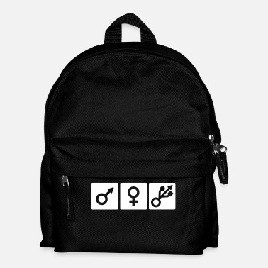 Nerd Male Female Nerd/Gamer - Mochila infantil
