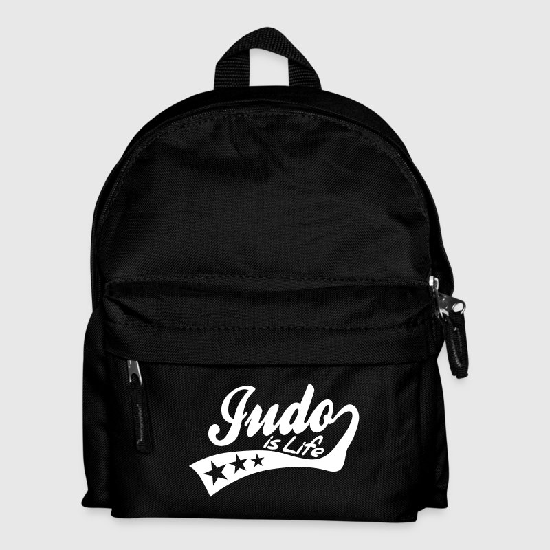 judo is life - retro - Kids' Backpack