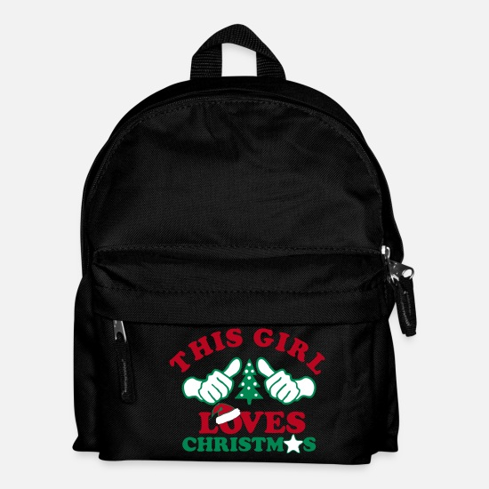 Christmas Bags & Backpacks - Christmas - Kids' Backpack black