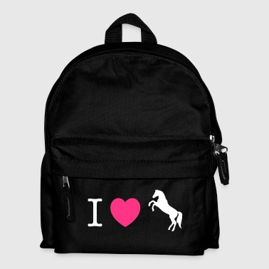I love Ponies wild horse - this design lets you change all colours - Ryggsekk for barn