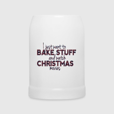 Bake Stuff and Watch Christmas Movies - Bierkrug