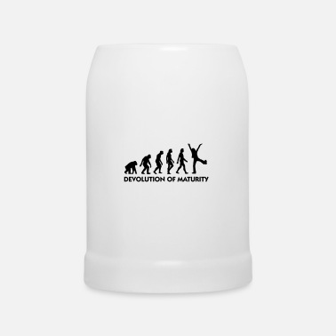 Mature The Evolution of maturity - Beer Mug