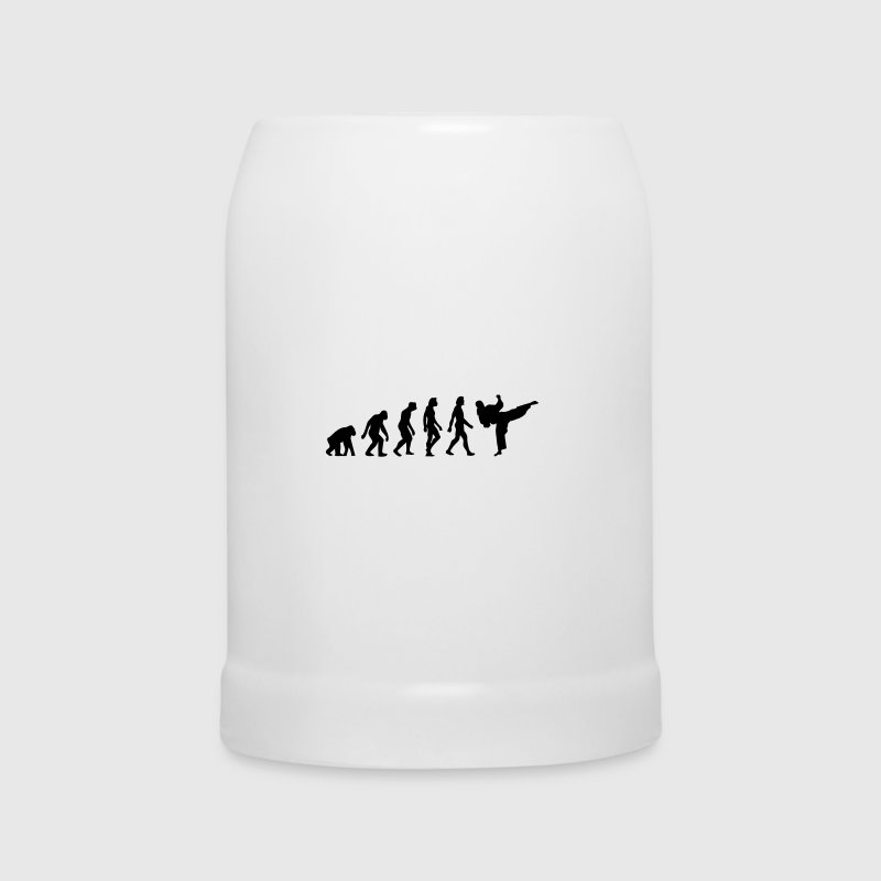 The Evolution of Taekwondo - Beer Mug