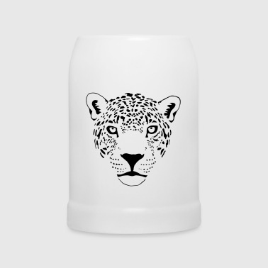 Cougar   cougar cat  panther leopard cheetah - Beer Mug