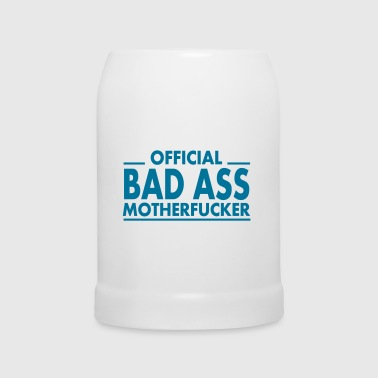 official bad ass motherfucker / badass - Beer Mug