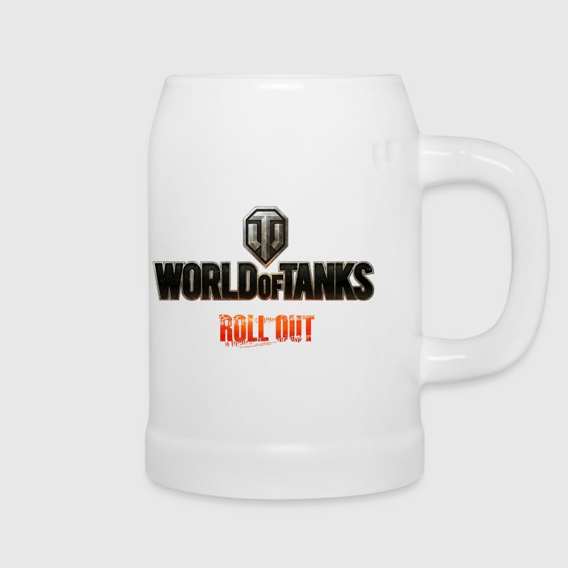World of Tanks Logo Roll out Beer Mug - Kufel do piwa
