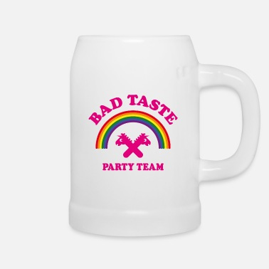 Bad Taste Bad Taste Party Team (Unicorn / Rainbow /  Cooper) - Beer Mug