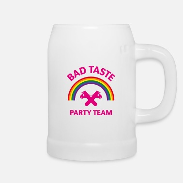 Bad Taste Bad Taste Party Team (Unicorn / Rainbow) - Beer Mug
