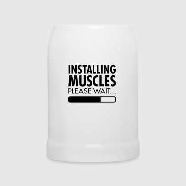 Installing Muscles (Loading) - Kufel do piwa