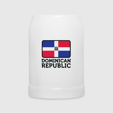 Drapeau national de la République dominicaine - Chope en céramique