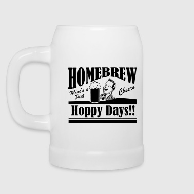 Hoppy Days - Beer Mug