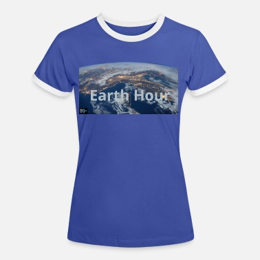 Earth Hour Earth Hour - Frauen Ringer T-Shirt