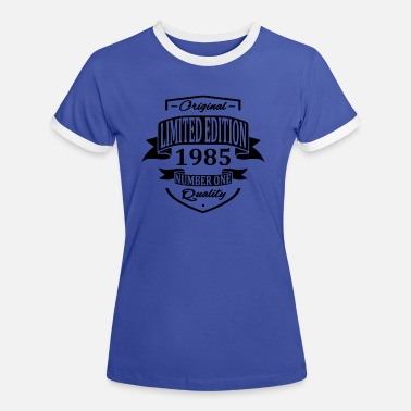 Limited Limited Edition 1985 - Women's Ringer T-Shirt