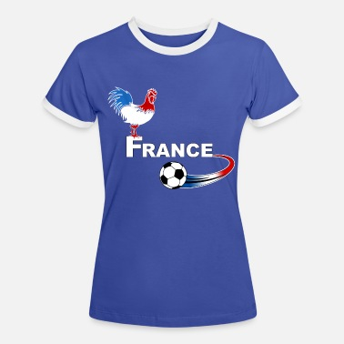 Football France football france 08 - T-shirt contrasté Femme