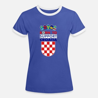 Croatia Support Croatia - Women's Ringer T-Shirt