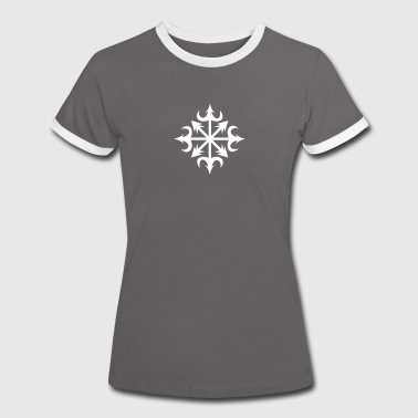 Chaos Star, Symbol of chaos, vector, everything has meaning and magic power! Power symbol, Energy symbol - Women's Ringer T-Shirt