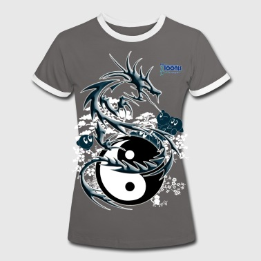 the dragon toonis - T-shirt contrasté Femme