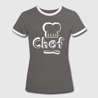 Master Chef cooking delicious food - Women's Ringer T-Shirt