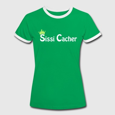 Sissi Cacher - 2colors - 2010 - Kontrast-T-shirt dam