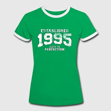 established 1995 - aged to perfection (uk) - Women's Ringer T-Shirt