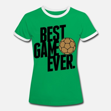 Handball Game handball - best game ever - Women's Ringer T-Shirt