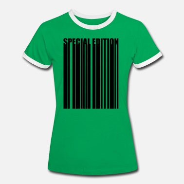 Special Number Barcode Barcode special edition Special Edition - Women's Ringer T-Shirt