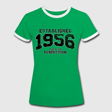 established 1956 - aged to perfection(uk) - Women's Ringer T-Shirt