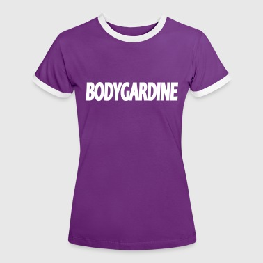 BODYGARDINE - Frauen Kontrast-T-Shirt