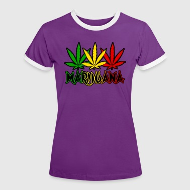 marijuana - Women's Ringer T-Shirt