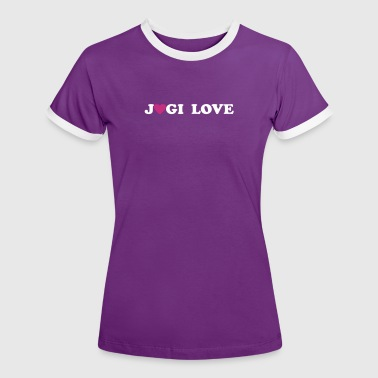 Jogi Love - Frauen Kontrast-T-Shirt