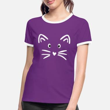 Sweet cat - Women's Ringer T-Shirt