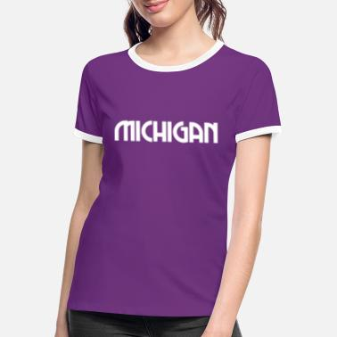 Michigan Michigan - Detroit - US - State - United States - Frauen Ringer T-Shirt