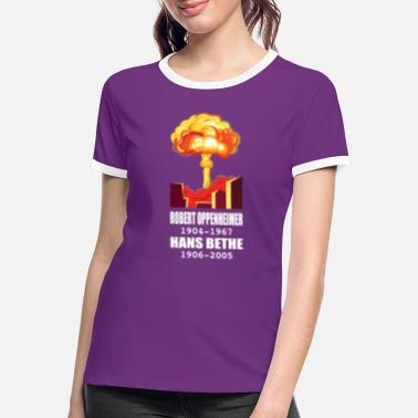 Atomic Robert Oppenheimer - Women's Ringer T-Shirt