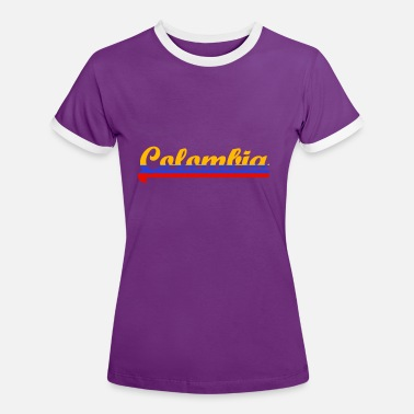Colombia colombia - Women's Ringer T-Shirt