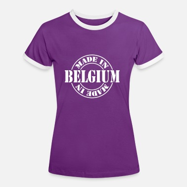 Made In Belgium made_in_belgium_m1 - T-shirt contrasté Femme