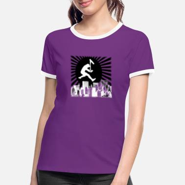 Scooter Scooter city - Women's Ringer T-Shirt