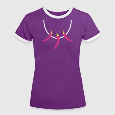 Necklace Chili - Women's Ringer T-Shirt