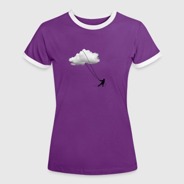 Dreams and clouds Lassoing - Women's Ringer T-Shirt