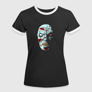 Shadow Zombie - Women's Ringer T-Shirt