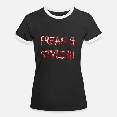 Skruril FREAK mit Stil - Frauen Ringer T-Shirt