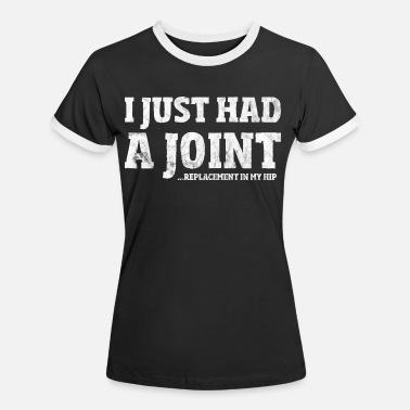 Hip Hip Surgery Gift Funny Joint Replacement T-Shirt - Women's Ringer T-Shirt