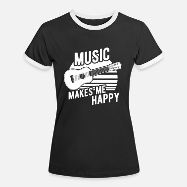 Guitar Hawaii music - Women's Ringer T-Shirt