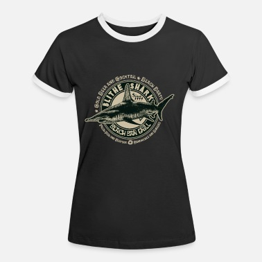 Blithe shark - Women's Ringer T-Shirt