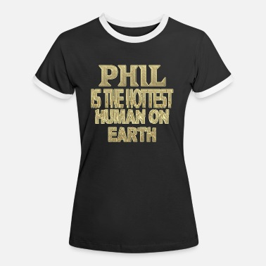 Phil Phil - Women's Ringer T-Shirt