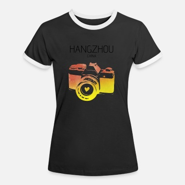 Hangzhou China, Hangzhou - Women's Ringer T-Shirt