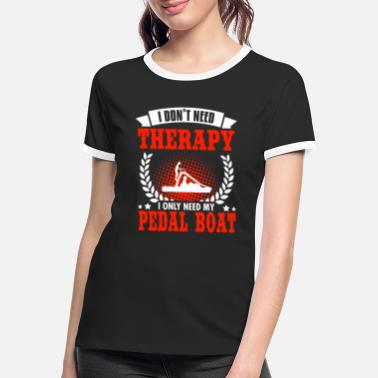 Pedals #PEDAL BOAT - Women's Ringer T-Shirt